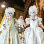 Maschere del 700 a Napoli
